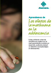 Los efectos de la marihuana en la adolescencia