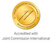 Acreditada por Joint Commission International