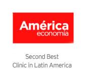 Segunda mejor Clínica de America Latina, Estudio AméricaEconomía Intelligence 2015