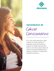 Mujer cancer cerviuterino
