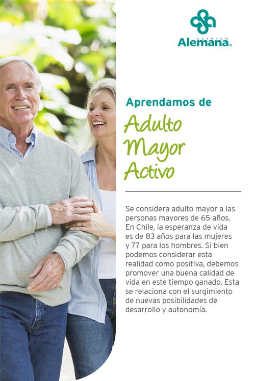 adulto mayor activo enfermedades deporte