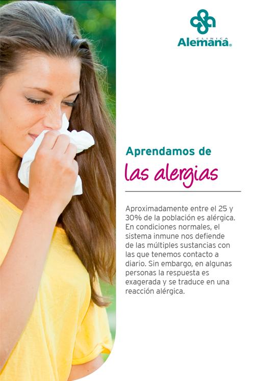 alergia primavera resfrio