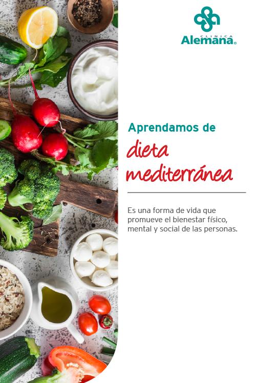 dieta comida alimentacion mediterranea