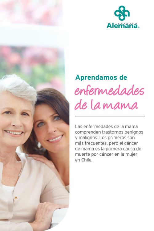 mama mujer cancer cáncer glandulas mamarias