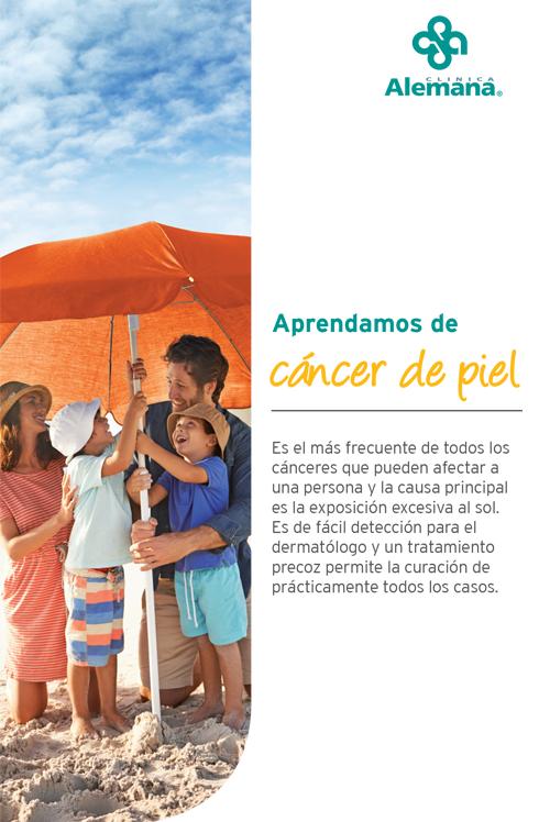 cancer piel dermatología